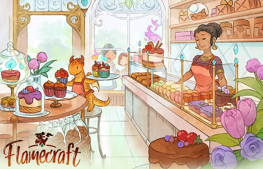 Flamecraft - Cake shop