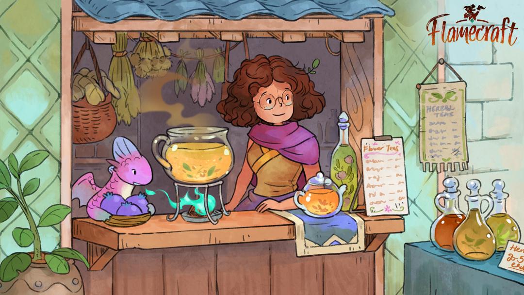 Flamecraft - Potion Shop