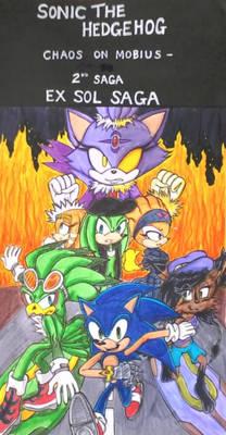 COM 2nd Saga Cover II