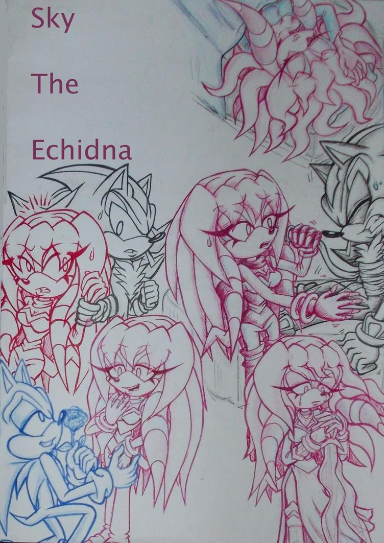 Random Sky Sketches 02 by Sky-The-Echidna