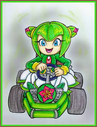 Contest Entry 1- #3 Cosmo Karting by Mel-Sky