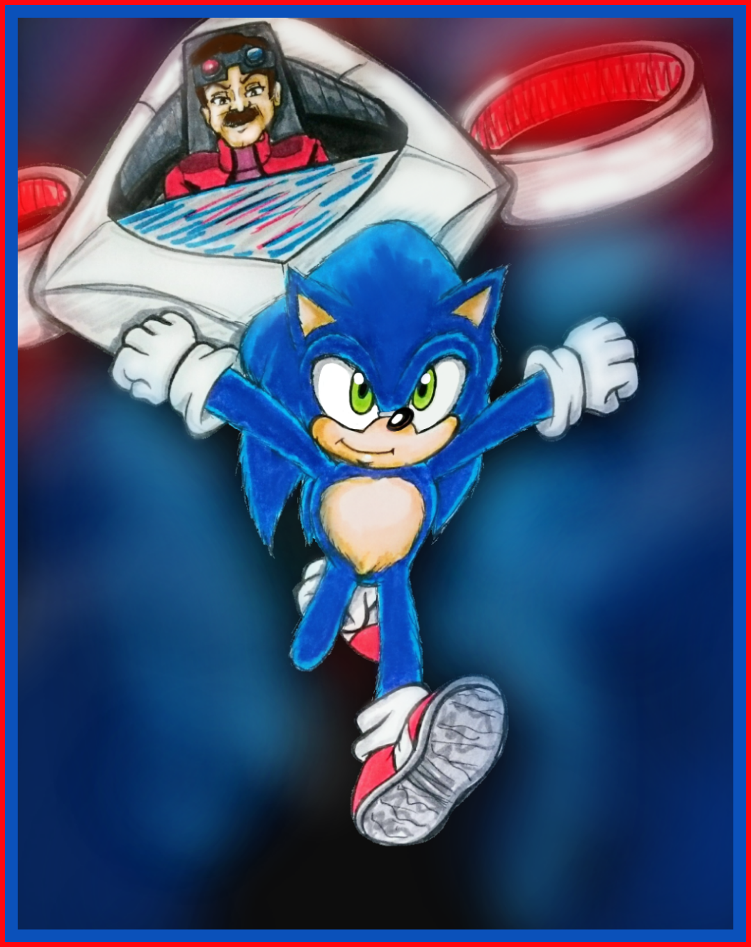 Commission Sonic 2020 Movie Picture By Mel Sky On Deviantart