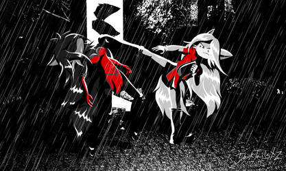 Two Dames to Kill For by DarkTailsXZ
