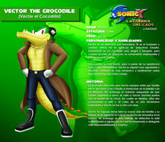 LGDC - Vector the Crocodile