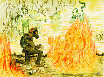 El piromano ilustre by TWILLIK-MAWEL