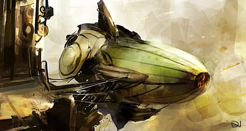Airship by danciao
