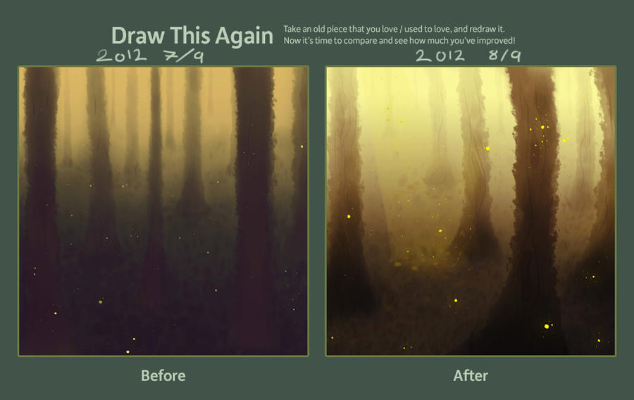Draw this Again Challenge 2012 by SagaTale
