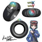 Pokemon X Y Mega Ring 3D Render