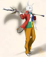 Fashion Fantasy 9 - Dragoon by Hanimetion