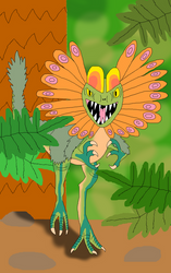 Updated Dilophosaurus by TyrannosaurusRex-123