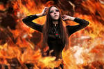 shut up and burn by MorganaThead