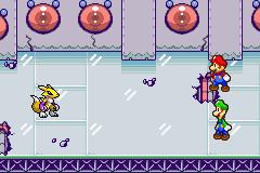 Renamon vs Mario and Luigi by DawnFelix