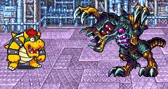 Bowser vs Omega Metroid by DawnFelix