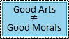 Being A Good Artist Doesn't Equal Morals by DawnFelix