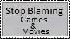 Stop Blaming Stamp by DawnFelix