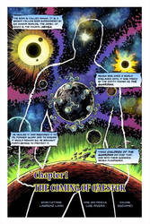 The Return of Gaia Force Issue #1 Page 1
