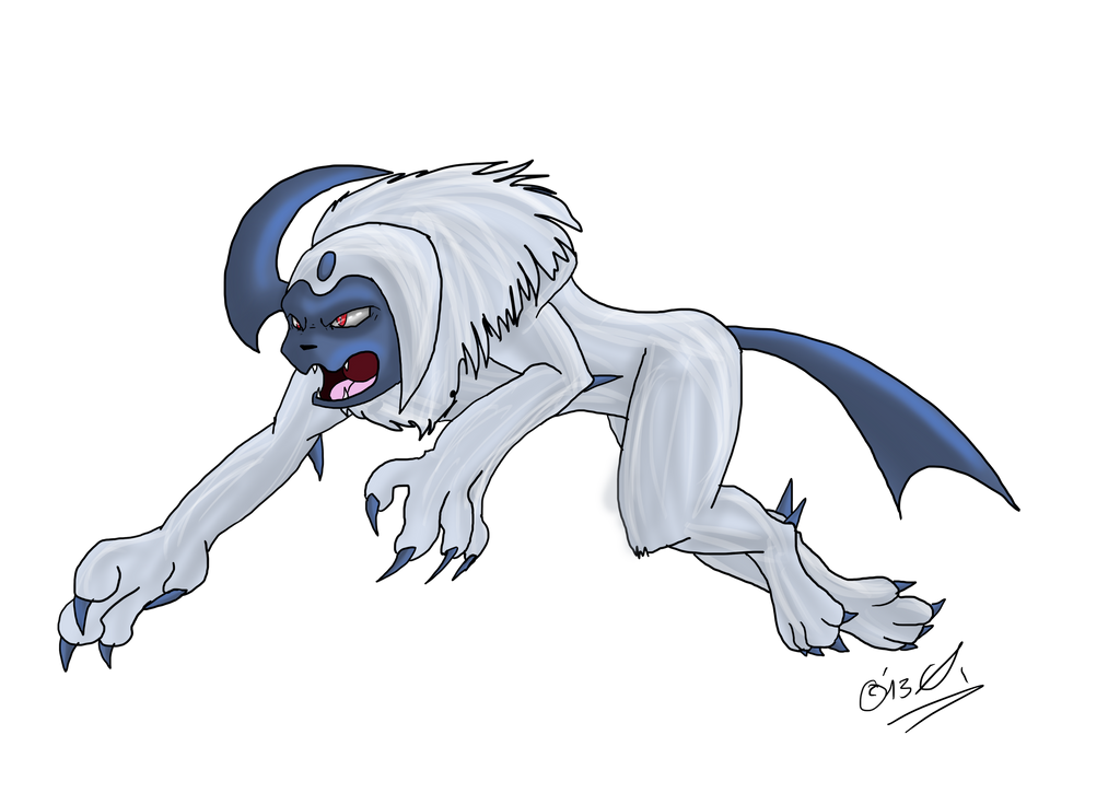 Absol by ExplodedPineapple