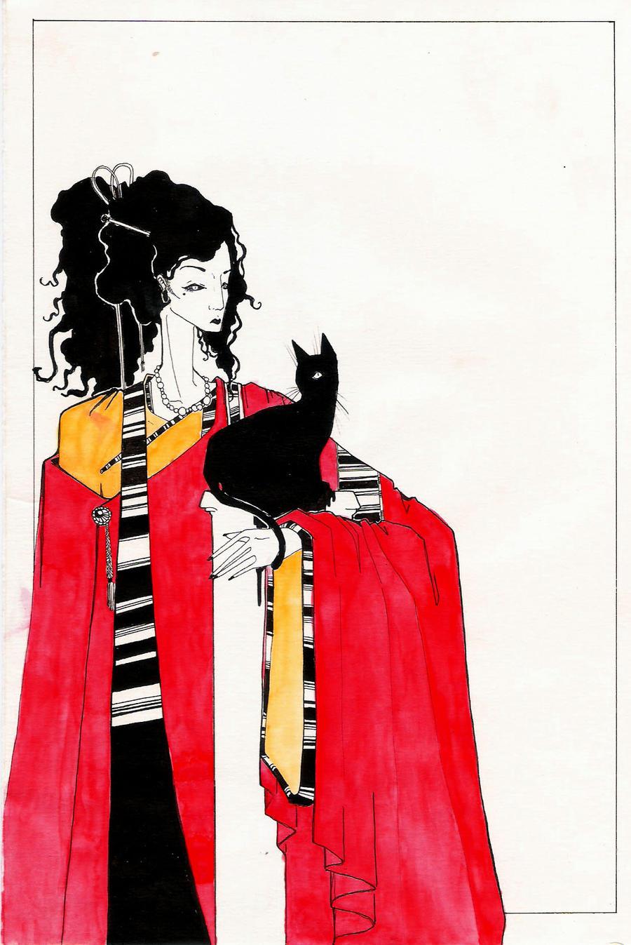 The Black CaT by carminausher
