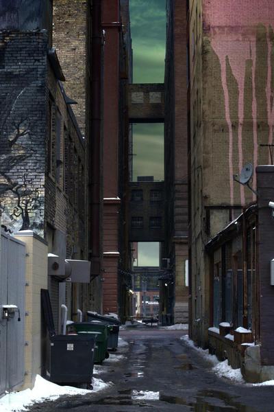 Alley II by sissorelle