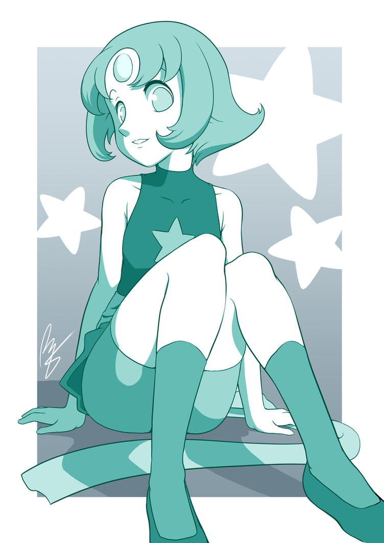 Crystal Gem Pearl by ROGER-IS