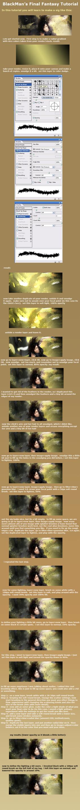 Final Fantasy Tag Tutorial 1 by mp3playah