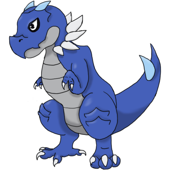 Shiny Tyrunt by Asterelle on DeviantArt