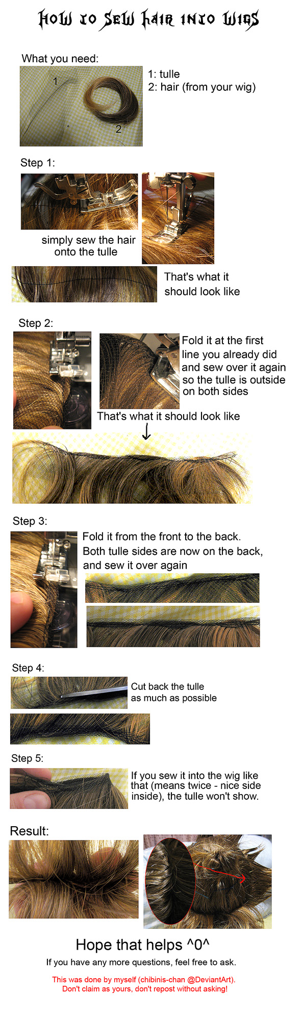 Tutorial: how to add hair...