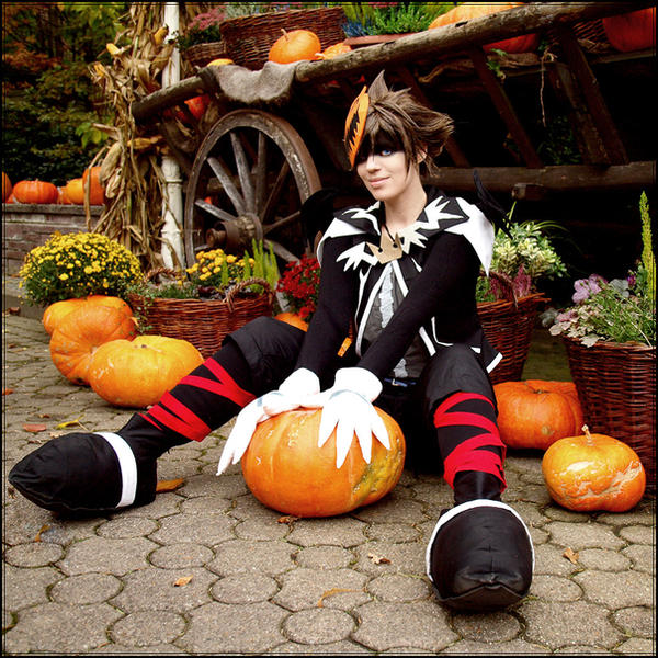 Sora: Halloween by chibinis-chan