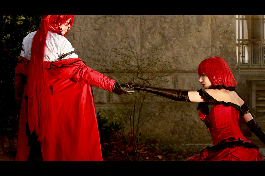 Kuroshitsuji: Join me, lady in red by chibinis-chan