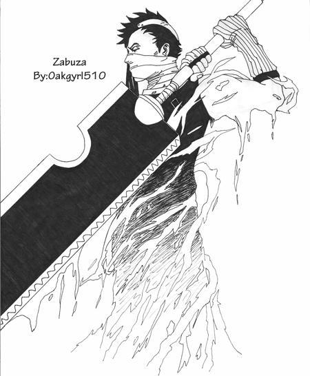 Momochi Zabuza By Oakgyrl510 On DeviantArt