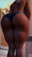 Sylvia and her booty