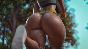Keicy out for a jog 2