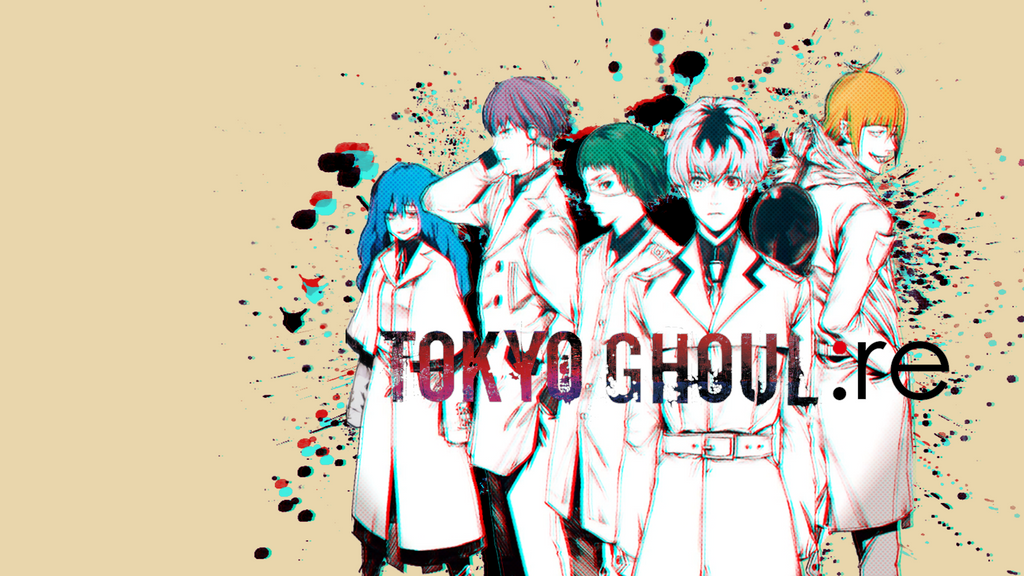 Tokyo Ghoul :re Quinx Squad Wallpaper V2 By