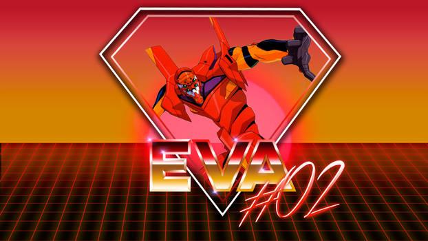 80's Style Eva Unit #02 Wallpaper