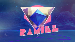 80's Style Ramiel Evangelion  Wallpaper by jesucristoasterisco