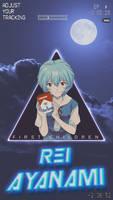 Rei ayanami cellphone wallpaper by jesucristoasterisco