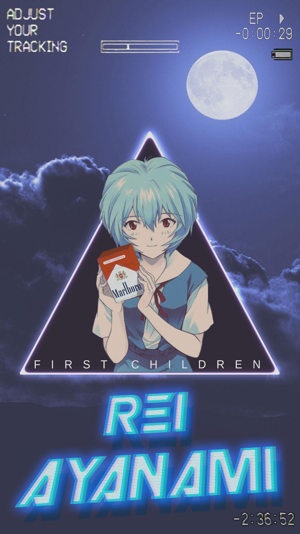 Rei Ayanami Cellphone Wallpaper By Jesucristoasterisco On