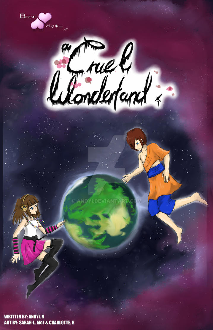 A Cruel Wonderland (Front Cover) by Andyi