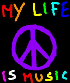 my life is music by Elva-Young