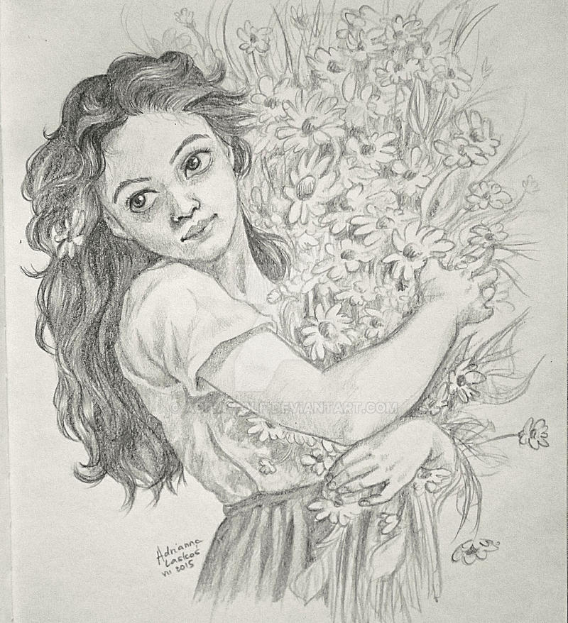 the flower girl by AdriaWolf