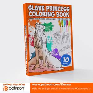 Slave Princess Coloring Book