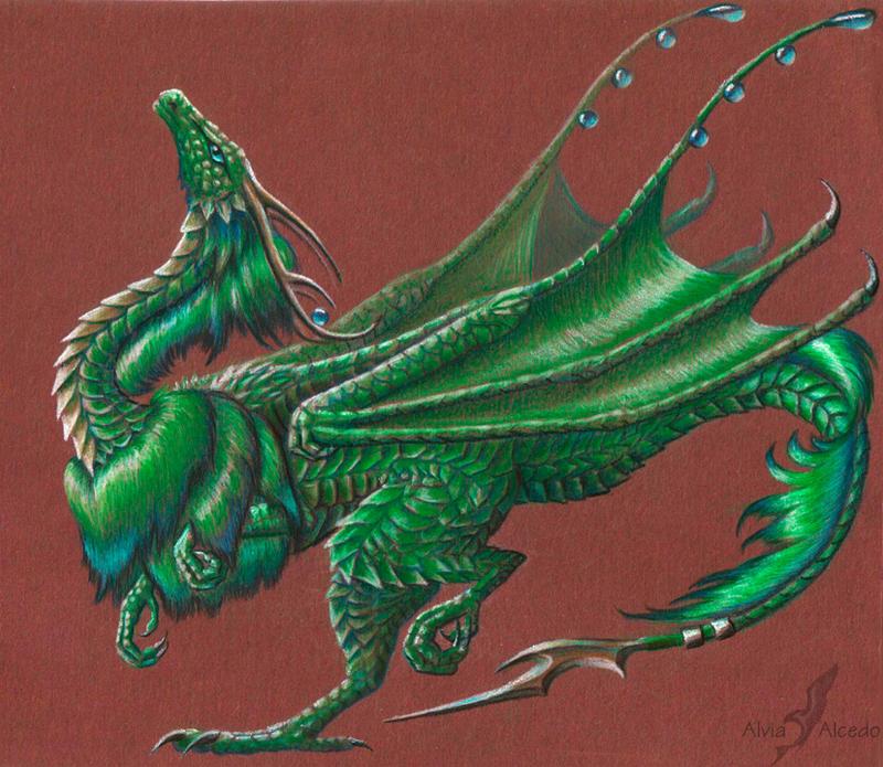 L'edara dragoness by AlviaAlcedo