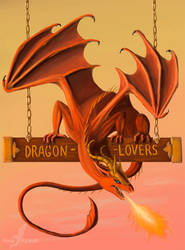 Proud to be dragon-lover by AlviaAlcedo