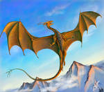 Mountain copper dragon