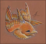 Amber dolphinbird