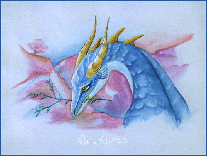 Mountain breath by AlviaAlcedo