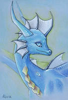 Vati the dragoness -day by AlviaAlcedo