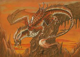 Tiger dragon by AlviaAlcedo