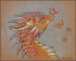 Butterfly morning by AlviaAlcedo