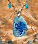 The Heart of Ice - stone painting miniature
